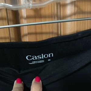Caslon Ruched Knit Skirt